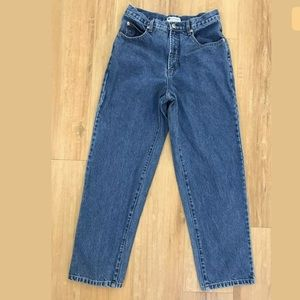Columbia Straight Leg Jeans High Waist Cotton